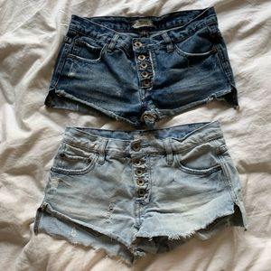 Free people shorts set!